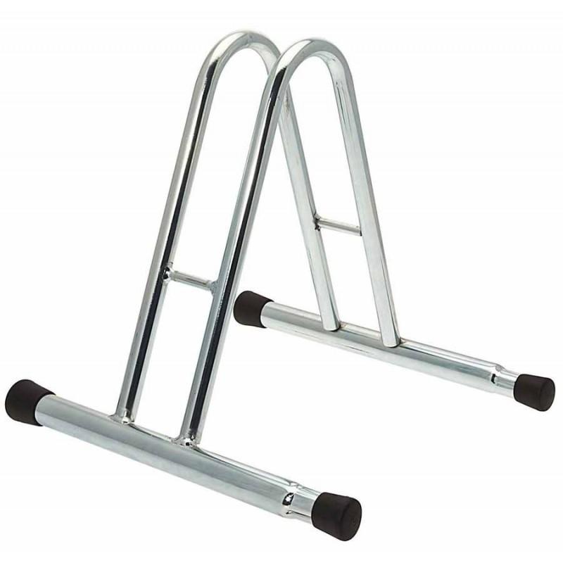 Porta biciclette a terra 1 posto alto modulabile con tappi
