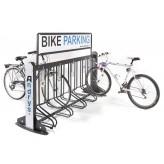 demountable bike rack for urban furniture