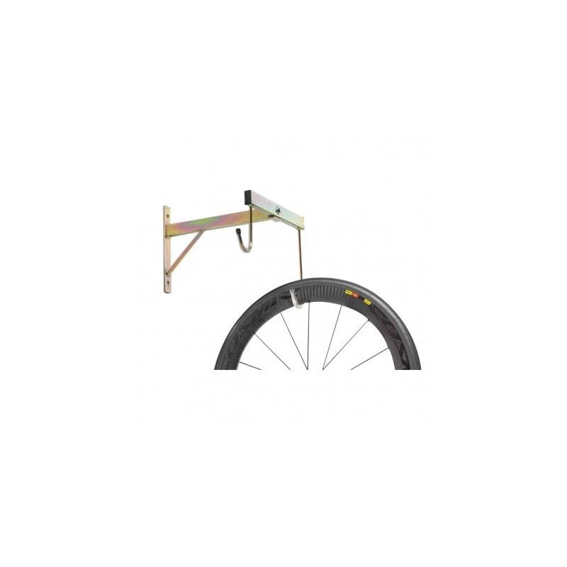 Porta biciclette a parete 2 posti smontabile