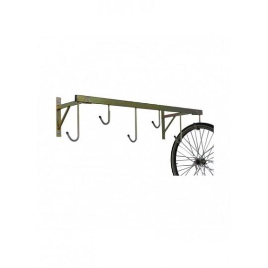 Porta biciclette a parete 6 posti smontabile