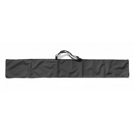 Exhibitor transport bag in black canvas