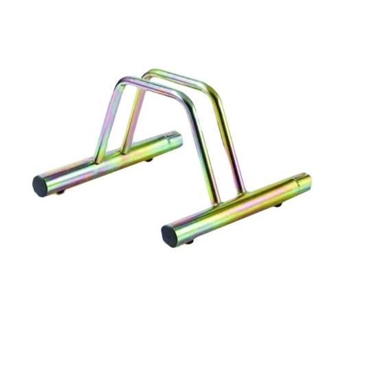 Porta biciclette a terra 1 posto modulabile