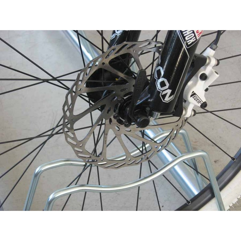 Porta biciclette a terra 7 posti