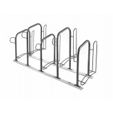 5 spaces matchable and removable bike rack for external use