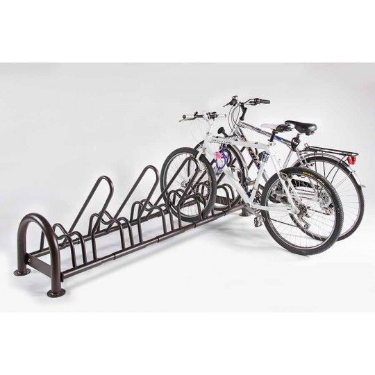Porta biclette smontabile, regolabile per arredo urbano
