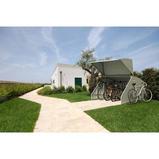 garage box pour la protection des vélos, motos et divers outils