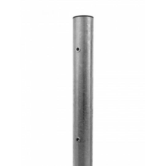 Palo in tubo zincato con bussole