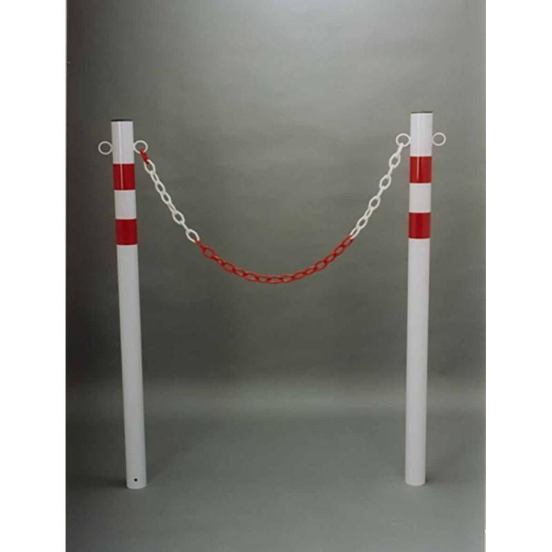 Paletto parapedonale in tubo