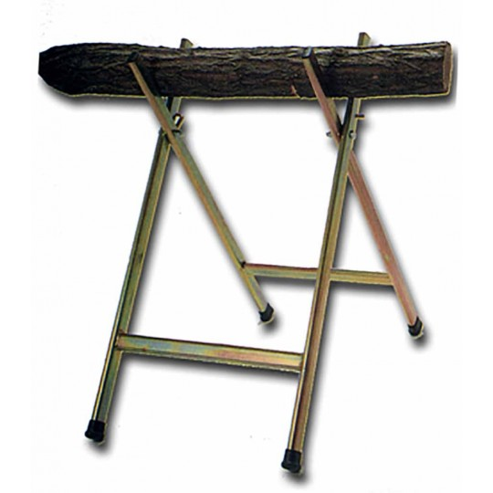 Zinc-coated wood mizer tripod.