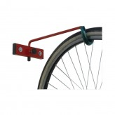 One space wall bike rack - with collapsible branch
