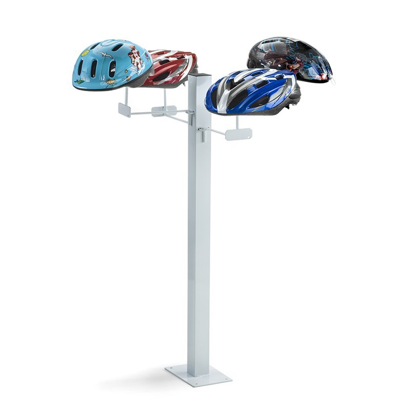 Sapling helmet exhibitor