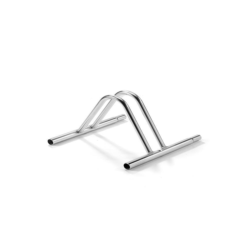 1 seat grounded bike holder