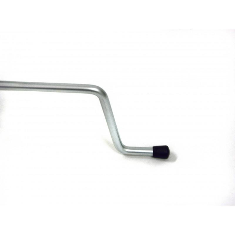 Porta biciclette a terra 1 posto in acciaio
