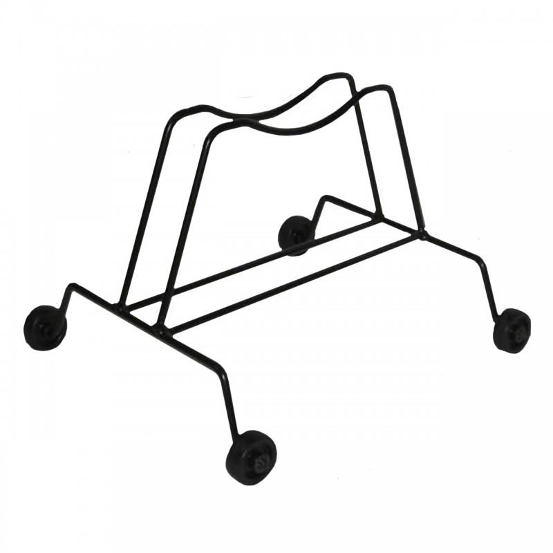 Porta biciclette a terra 1 posto con ruote in acciaio